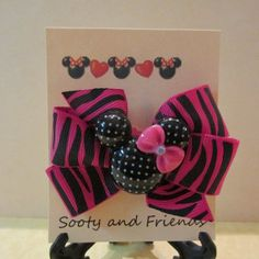 Minnie Mouse Party Favors Set of 6 by Sootysdressupfriends on Etsy, $18.00