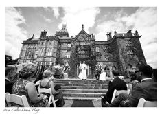 An outdoor ceremony in Adare Manor Spring Weddings, Real Weddings, Black N White Images, Black And White, Adare Manor, West Coast Of Ireland, Irish Wedding, Outdoor Ceremony, Friend Wedding
