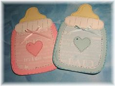 When someone you love is having a baby, that instinct to go out and buy cute baby things kicks in. Party Gifts, Diy Gifts, Baby Girl Invitations, Invites, Fun Crafts, Diy And Crafts, Diy Shower, Shower Ideas, Scrapbook Cards