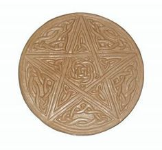 witches tools | Wiccan Ritual Tools: The Pentacle, I am going to try and make one of these out of clay.