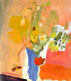 Ivon Hitchens    Summer Bouquet, Blue Vase    1940