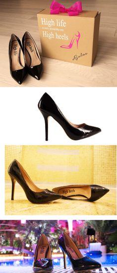 High heels Classic Pumps  brand: High life is only possible on High heels  www.facebook.com/highlifehighheels  http://www.ebay.pl/itm/251466118822?ssPageName=STRK:MESELX:IT&_trksid=p3984.m1555.l2649  http://allegro.pl/oryginalne-buty-szpilki-szpic-czolenka-hit-i4026618387.html