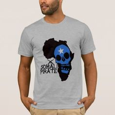 Somali Pirate T-Shirt - tap to personalize and get yours