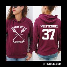 Sudadera #TeenWolf #Hoodie #Sweatshirt #Felpa #Whittemore37 #Diseño #Design con envío #gratis sólo en www.UppStudio.com