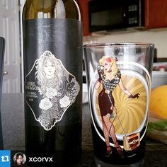 Girl & Dragon via @xcorvx
