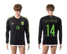 http://www.xjersey.com/201516-mexico-14-chicharito-home-long-sleeve-thailand-jersey.html 2015-16 MEXICO 14 CHICHARITO HOME LONG SLEEVE THAILAND JERSEY Only 33.11€ , Free Shipping!