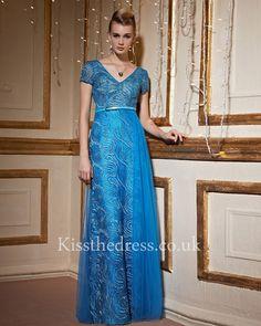 blue prom dress http