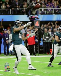 13804071360 Philadelphia Eagles Super Bowl LII Trey Burton Philly Special Touchdown  Catch NFL Football 8