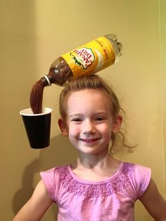 For crazy hair day at school!