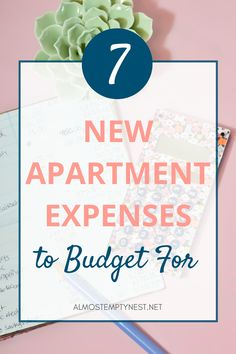 Add these 7 New Apartment Expenses to your New Apartment Checklist! Getting your first apartment is exciting, but it brings a new world of adulting responsibilities like budgeting, setting up your utilities, and buying renter's insurance. #almostemptynest #newapartment New College, College Hacks, New Students, College Students, Renters Insurance, Printable Bible Verses, First Apartment, College Information, Being A Landlord