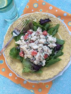 A Recipe for Chicken BLT Salad and a Giveaway of The Slim Down South Cookbook {Podcast #236}