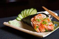 Resultado de imagem para temaki salmão