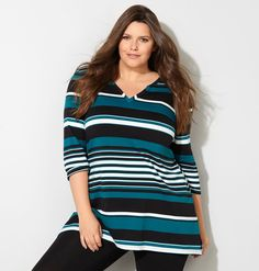 Variegated Stripe Active TopVariegated Stripe Active Top,