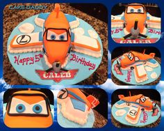 Disney Planes Dusty cake! | Custom Cakes by Cake Daddy ...