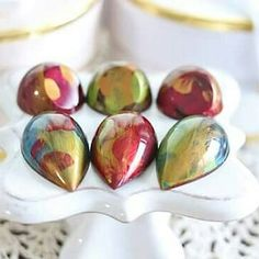 Glossy colorful chocolates with a thin shell and soft ganache filling. I remember the first successful batch and how satisfying it was and it still is. Chocolate Art, Chocolates, Shells, Artisan, Colorful, Instagram, Conch Shells, Schokolade