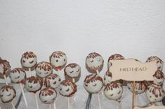 Ned-Heads Cake Pops Game of Thrones Party Game Of Thrones Party, Pop Game Of Thrones, Cake Pop Games, Cake Pops, Place Cards, Place Card Holders, Twin Girls, Birthday, Cakepops