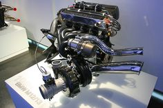 BMW inline 4 F1 engine. 1.5Ltrs 1500BHP 70, yes 70 psi of boost.