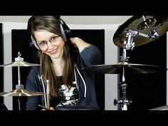 Back story: Delilah played drums before The Cookie Incident. It made her happy.