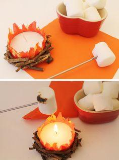 DIY Mini Bonfire cra
