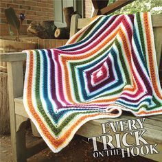 Fun and easy to make, this star stitch afghan is pretty amazing! The Stars Aligned by Polly Plum is a beautiful afghan of star stitches worked in concentric squares that can be worked to the size you want by simply repeating the pattern. This clever square is the perfect stash buster pattern and can be …