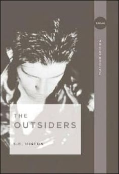 The outsiders. For more book fun, follow us on Pinterest :  www.pinterest.com/booktasticfun AND on Facebook :  www.facebook.com/booktasticfun