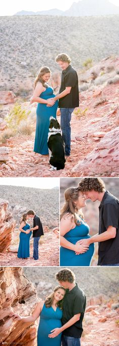 Desert Maternity Session | KMH Photography, Las Vegas Wedding Photographer