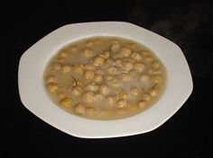 authentic Greek Chickpea Soup (Revithia) Recipe ½ kg chickpeas 1 onion grated 1 teaspoon rosemary 1 tablespoon lemon juice 1 tablespoon baking soda 100 ml olive oil Salt and Pepper to taste