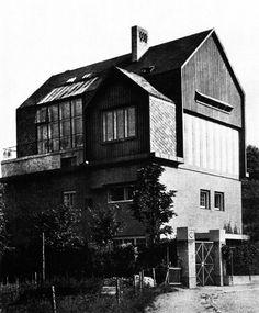 Karl Fischl, Atelier House, Vienna, Austria, 1909