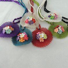 Turkish needle lace (igne oyasi)