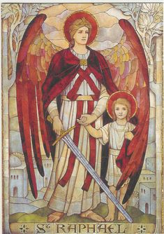 Archangel Raphael... from my friend Jennifer