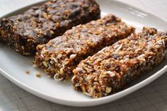 Lara bars 2 Homemade Larabars (Grain free Energy Bars)