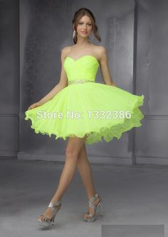 Find A Neon Homecoming Dress - Prom Dresses Cheap   nik prom 17 ...
