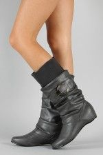 Nature-2 Sweater Slouchy Mid Calf Boot