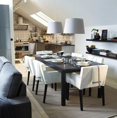 Find This Pin And More On Dining Rooms By IKEAUSA. IKEA   STORNÄS,  Extendable Table ...
