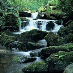 Watersmeet, Devon waterfall