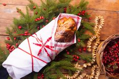 Léty ověřená vánočka — CULINA BOTANICA Christmas Stockings, Holiday Decor, Home Decor, Needlepoint Christmas Stockings, Decoration Home, Room Decor, Christmas Leggings, Home Interior Design, Home Decoration