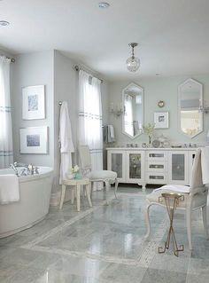 Cute and modern bathroom