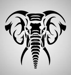 tribal animal: Elephant Tribal