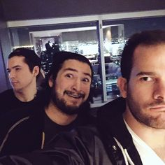 Aleks, James and Brett Creature Hub, Cow Chop, Rooster Teeth, Creatures, Youtubers, Pine, Couch, Boys, Pine Tree