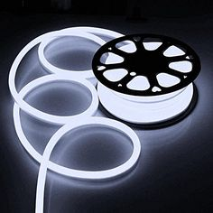 Flex LED Neon Rope Light Indoor Outdoor Holiday Valentine Decoration Lighting Cool White * See this great product. Flexible Led Strip Lights, Led Light Strips, Sign Lighting, Strip Lighting, Lighting Sale, Led Rope Lights, Decorating With Christmas Lights, Decorate Your Room, Lighting Solutions