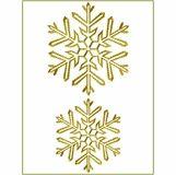 Snowflake Gold 11