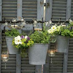 flowery buckets