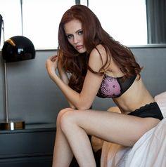 Magnificent alyssa campanella lingerie