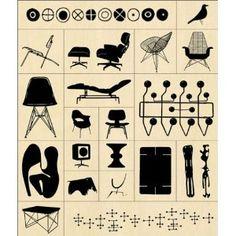 Eames Stamp Kit
