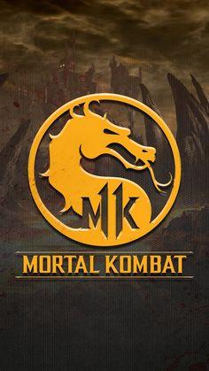 Mortal Kombat 11 Logo Wallpaper Mortal Kombat Tattoo, Mortal Kombat Art, Video Game Posters, Video Game Art, Mortal Kombat X Wallpapers, Liu Kang, Childhood Games, Fnaf Drawings, Pokemon