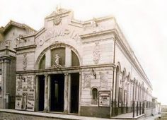 Cine Olympia, Belém antiga.