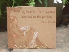 in the garden by Joanne Wardle using RRD's Relish Reading collection