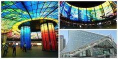 La coloratissima stazione di Formosa Boulevard a Kaohsiung, #Taiwan