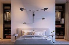 Bildresultat för snedtak garderob bakom säng