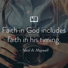Quote About Faith from Neal Maxwell